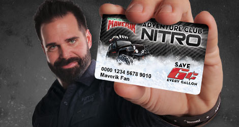 Earn freebies and save on fuel with a Nitro card
